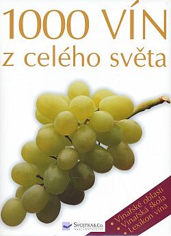 1000 vín z celého světa obálka knihy