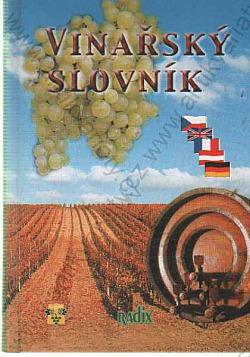 Vinařský slovník obálka knihy