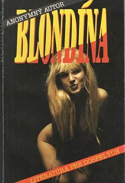 Blondína obálka knihy