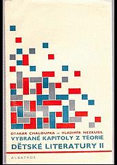 Vybrané kapitoly z teorie dětské literatury II. obálka knihy