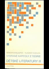 Vybrané kapitoly z teorie dětské literatury III. obálka knihy