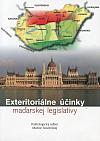 Exteritoriálne účinky maďarskej legislatívy