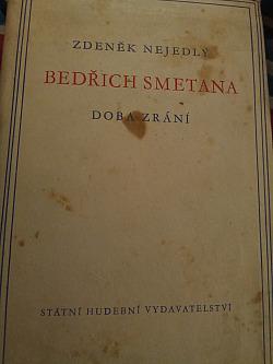 Bedřich Smetana - Doba zrání obálka knihy