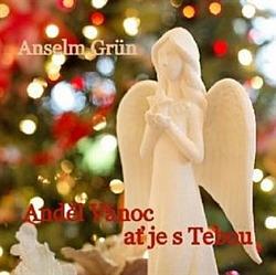 Anděl Vánoc ať je s tebou obálka knihy