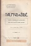 Talmud a Židé - Svazek I