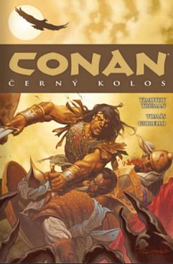 Conan: Černý kolos obálka knihy