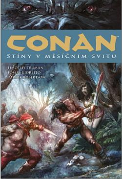Conan: Stíny v měsíčním svitu obálka knihy