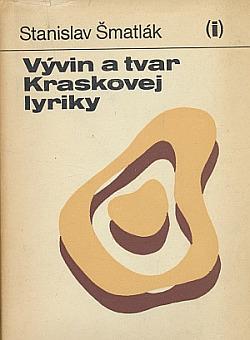Vývin a tvar Kraskovej lyriky obálka knihy