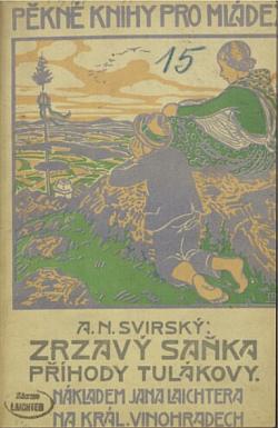 Zrzavý Saňka - příhody tulákovy obálka knihy