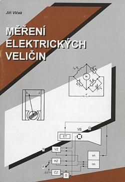 Měření elektrických veličin obálka knihy