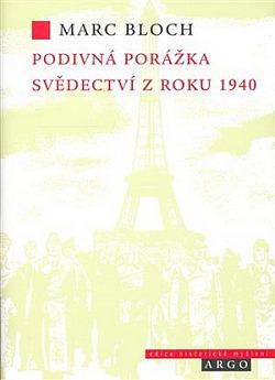 Podivná porážka: Svědectví z roku 1940 obálka knihy