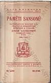 Paměti Sansonů