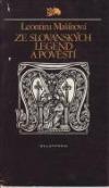 Ze slovanských legend a pověstí obálka knihy