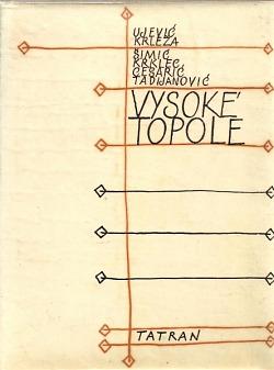 Vysoké topole obálka knihy