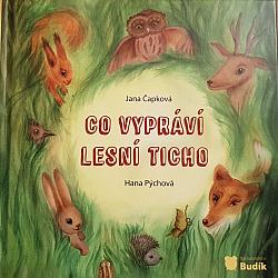 Co vypráví lesní ticho obálka knihy