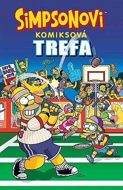 Simpsonovi: Komiksová trefa obálka knihy
