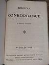 Biblická konkordance obálka knihy