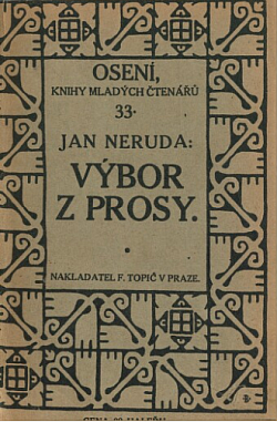 Výbor z prosy obálka knihy