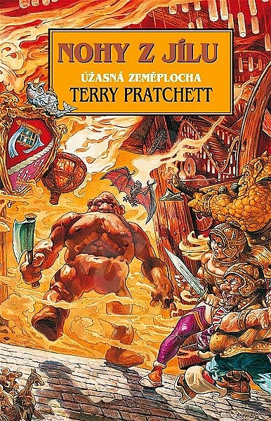 Kniha Nohy z jílu (Terry Pratchett)