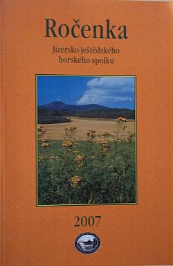Ročenka Jizersko-Ještědského horského spolku 2007 obálka knihy