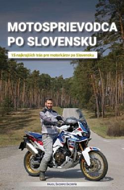 Motosprievodca po Slovensku obálka knihy