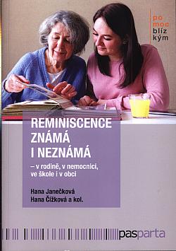 Reminiscence známá i neznámá obálka knihy