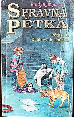 Pětka na Ďáblových skalách obálka knihy
