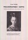 Malostranská Sapfo - Opožděná recenze díla Elizabethy Johanny Westonové 1582-1612