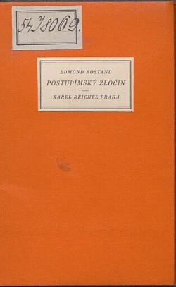 Postupímský zločin obálka knihy