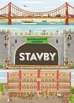 Stavby: Panoramatické scenérie obálka knihy