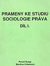 Prameny ke studiu sociologie práva. 1