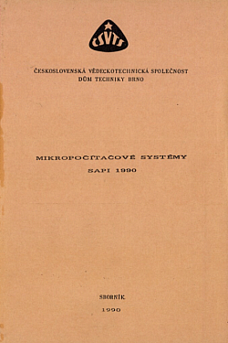 Mikropočítačové systémy SAPI obálka knihy