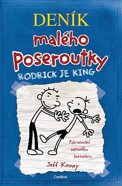 Rodrick je king obálka knihy