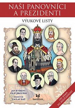 Naši panovníci a prezidenti obálka knihy