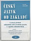 Český jazyk od základů
