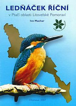 Ledňáček říční v Ptačí oblasti Litovelské Pomoraví obálka knihy
