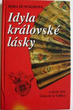 Idyla královské lásky obálka knihy