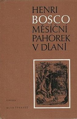 Měsíční pahorek v dlani obálka knihy