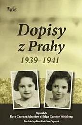 Dopisy z Prahy 1939-1941 obálka knihy