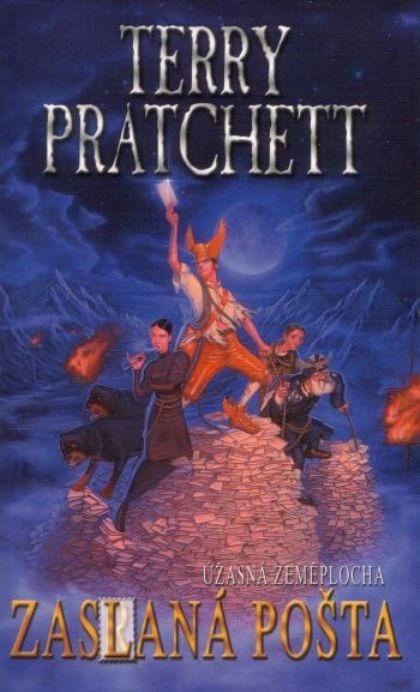 Kniha Zaslaná pošta (Terry Pratchett)
