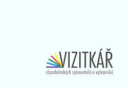 Vizitkář západočeských spisovatelů a výtvarníků obálka knihy