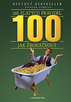 100 zlatých pravidel jak zbohatnout obálka knihy