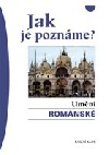 Umění románské obálka knihy