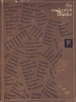 Sto moderních básníků obálka knihy