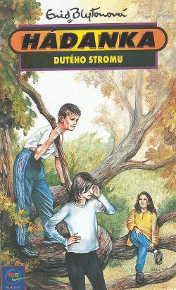 Hádanka dutého stromu obálka knihy