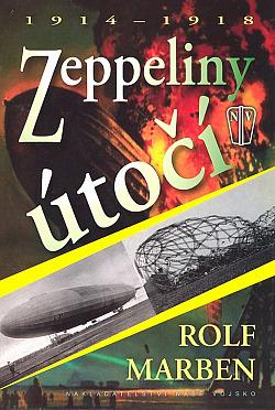 Zeppeliny útočí obálka knihy