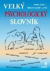 Velký psychologický slovník obálka knihy