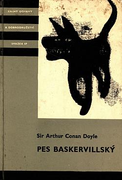 Pes baskervillský obálka knihy
