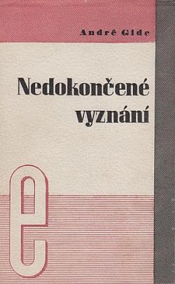 Nedokončené vyznání obálka knihy