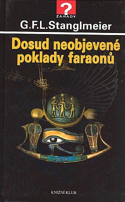 Dosud neobjevené poklady faraonů obálka knihy